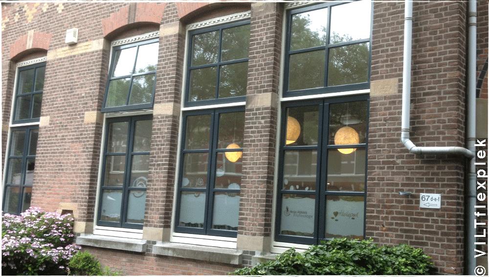 Viltflexplek vilten lamp Den Haag