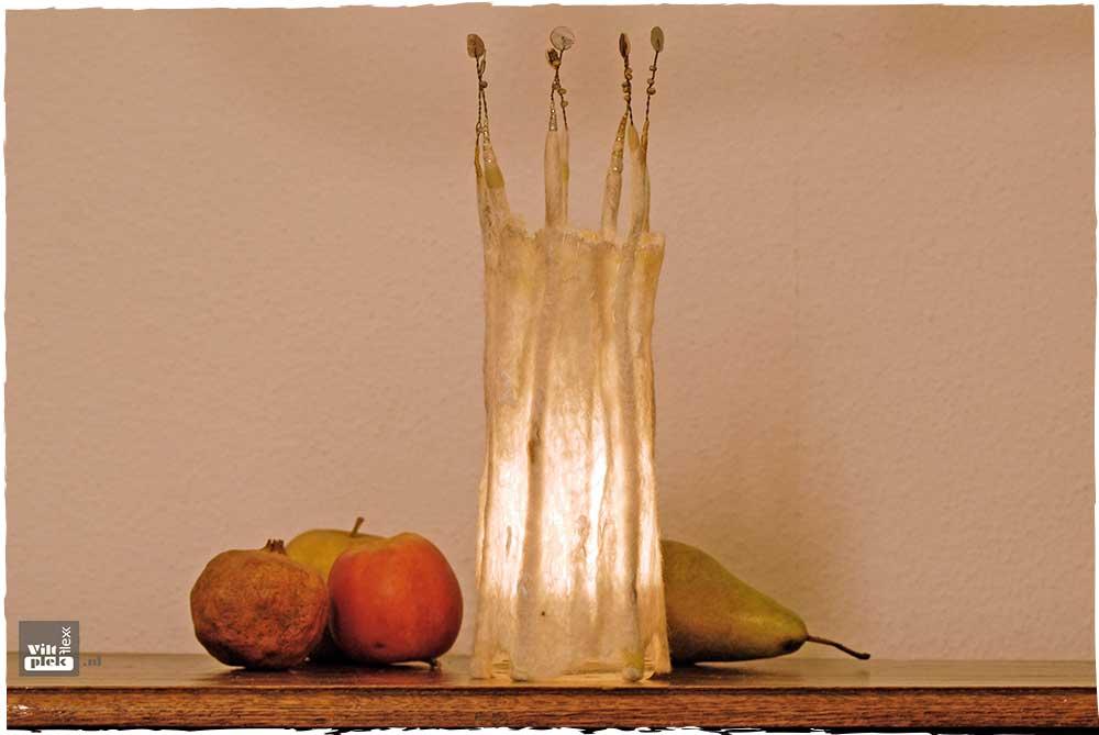 Windlicht Winterlichtje ontwerp Anneke Zwolsman-Westing